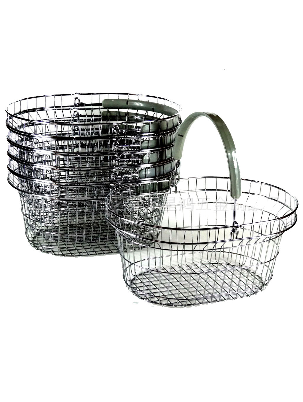 Oval Wire Shopping Basket